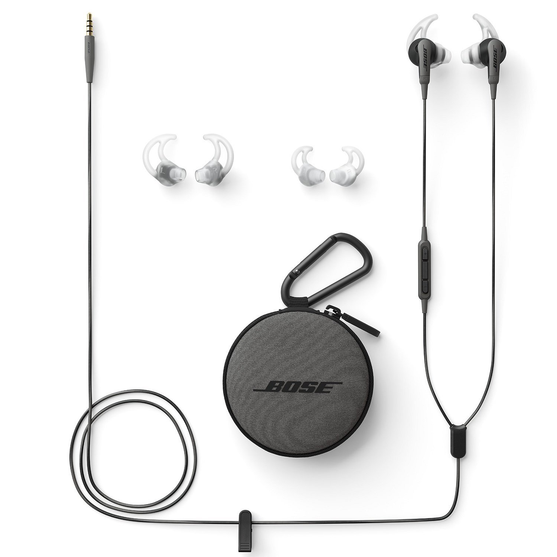Headphones and bag