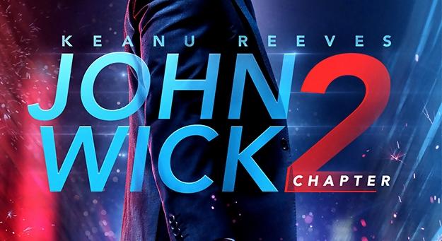 John Wick Chapter 2 Blu-Ray DVD Release Set