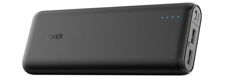 Anker PowerCore 20100 – Ultra High Capacity Power Bank with 4.8A Output and our favorite