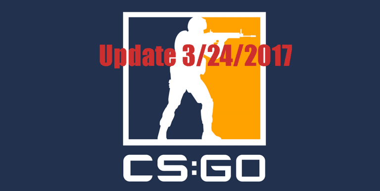 Counter Strike: Global Offensive update 3/24/2017