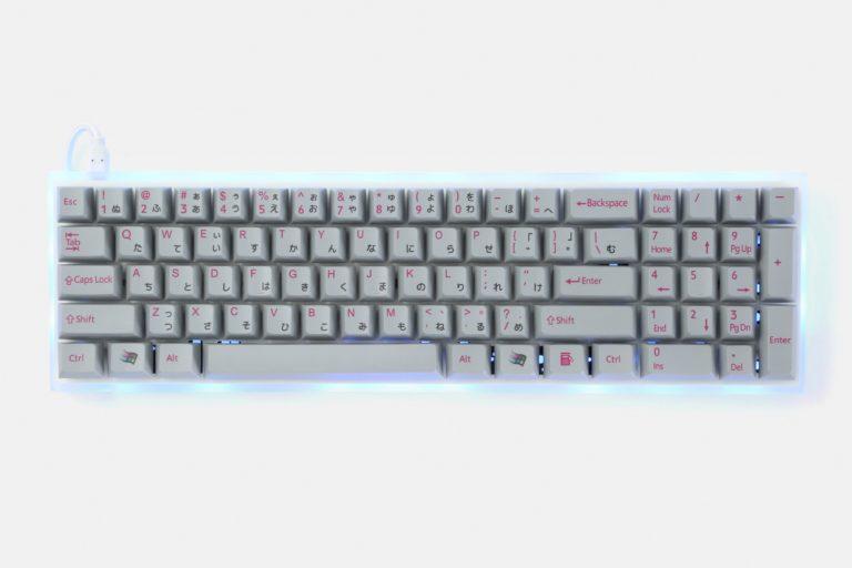 Red Scarf II+ Version D Keyboard on Massdrop