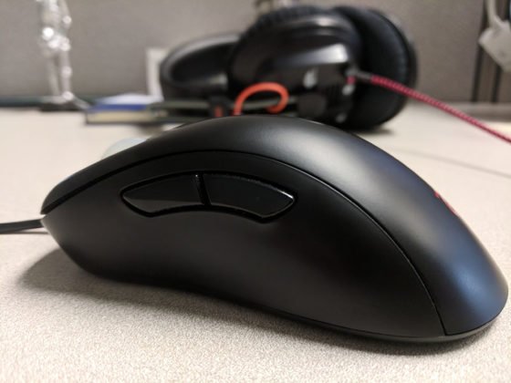 Zowie EC2-A Left Side